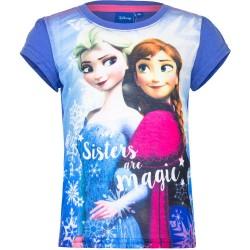 Koszulka T-shirt Frozen- Kraina Lodu rozmiar 128cm