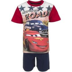Piżama krótki rękaw Auta- Cars rozmiar 128cm