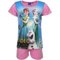 Piżama krótki rękaw Frozen- Kraina Lodu 98cm