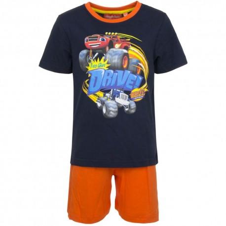 Piżama krótki rękaw Blaze i Mega Maszyny rozmiar 128