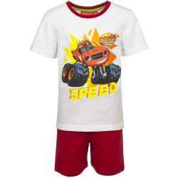 Piżama krótki rękaw Blaze i Mega Maszyny rozmiar 98
