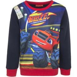 Bluza Blaze i Mega Maszyny rozmiar 128- Czerwony