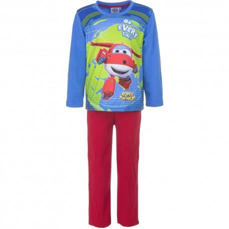 Piżama długi rękaw Super Wings Polarowa rozmiar 94