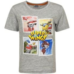 Koszulka T-shirt Super Wings rozmiar 98 - Szary