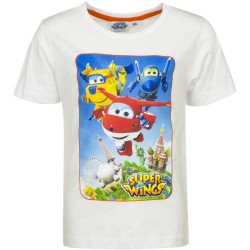 Koszulka T-shirt Super Wings rozmiar 110 - Biały