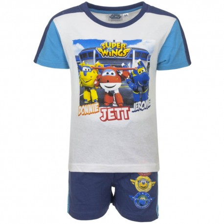 Koszulka T-shirt + krótkie spodenki Super Wings rozmiar 110