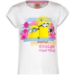 Koszulka T-shirt Minionki rozmiar 128- Biały