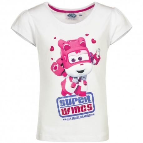 Koszulka T-shirt Super Wings rozmiar 116- Biały