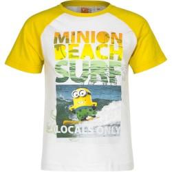 Koszulka T-shirt Minionki rozmiar 128- Żółty