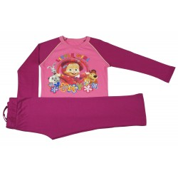 Piżama długi rękaw Masza i Niedźwiedź rozmiar 128
