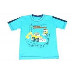 Koszulka T-shirt Maszyny Budowlane Rozmiar 110