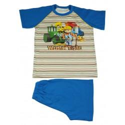 Piżama krótki rękaw Bob Budowniczy rozmiar 116