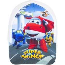 Czapka z daszkiem Super Wings rozmiar 54 - biały
