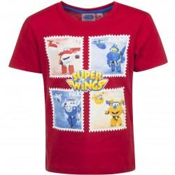 Koszulka T-shirt Super Wings rozmiar 104 - czerwony