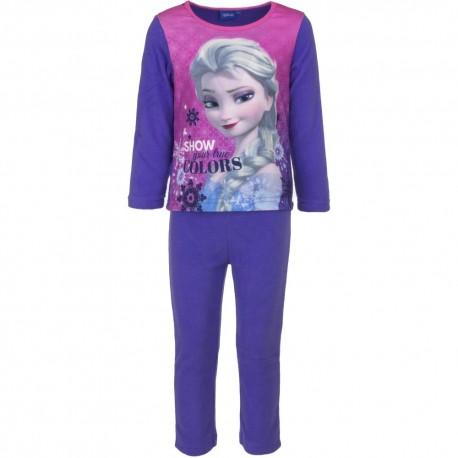 Piżama długi rękaw Frozen Kraina lodu Polarowa rozmiar 110