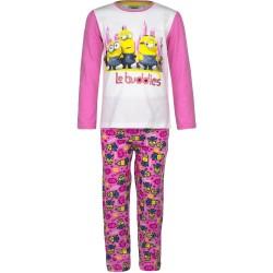 Piżama długi rękaw Minionki rozmiar 116