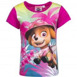 Koszulka T-shirt Psi Patrol rozmiar 98 - różowy ciemny
