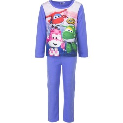Piżama długi rękaw Super Wings Polarowa rozmiar 104