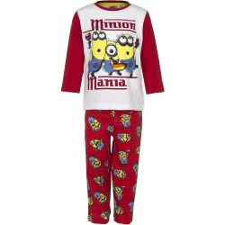 Piżama długi rękaw Minionki rozmiar 114