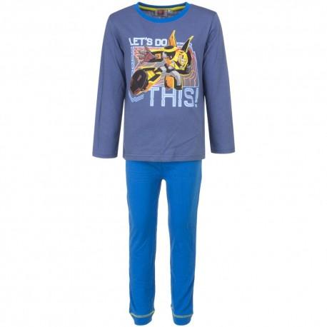 Piżama długi rękaw Transformers rozmiar 98