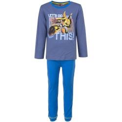 Piżama długi rękaw Transformers rozmiar 104