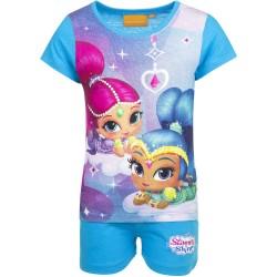 Koszulka T-shirt + krótkie spodenki Shimmer i Shine rozmiar 98