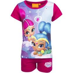 Koszulka T-shirt + krótkie spodenki Shimmer i Shine rozmiar 92