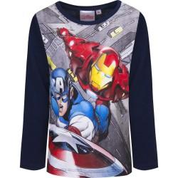 Bluzka długi rękaw Avengers rozmiar 128