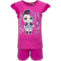 Koszulka T-shirt + krótkie spodenki LOL Surprise rozmiar 104