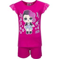 Koszulka T-shirt + krótkie spodenki LOL Surprise rozmiar 128
