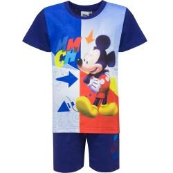 Piżama krótki rękaw Myszka Miki Mickey rozmiar 110