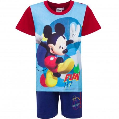 Piżama krótki rękaw Myszka Miki Mickey rozmiar 104