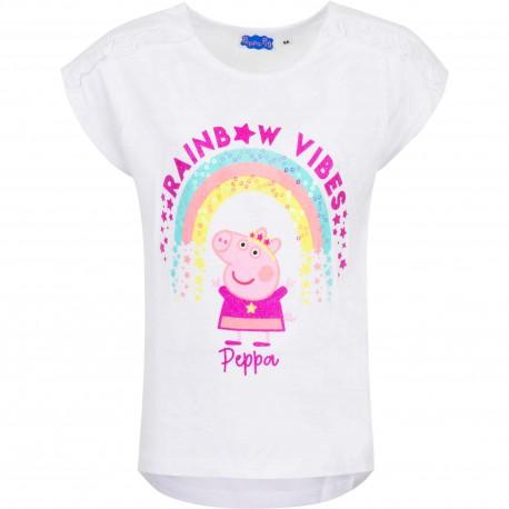 Koszulka T-shirt Świnka Peppa rozmiar 110