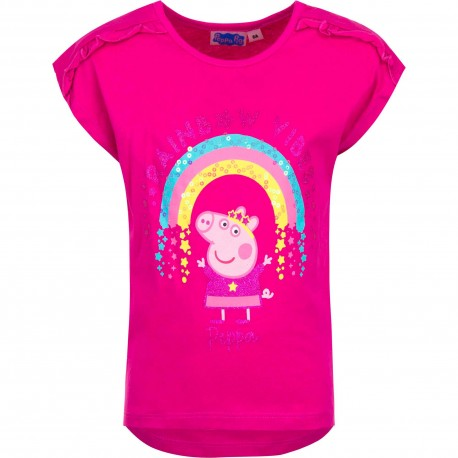 Koszulka T-shirt Świnka Peppa rozmiar 116