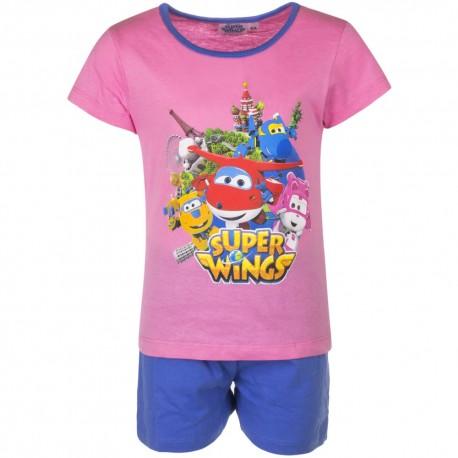 Piżama krótki rękaw Super Wings rozmiar 98