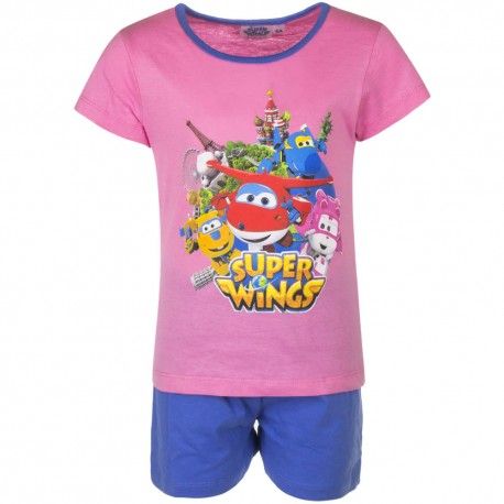Piżama krótki rękaw Super Wings rozmiar 110