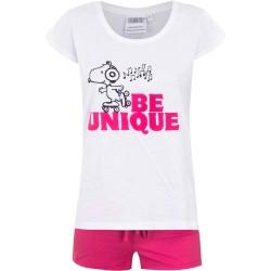 Piżama krótki rękaw Snoopy rozmiar L