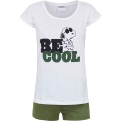 Piżama krótki rękaw Snoopy rozmiar M
