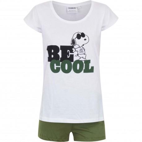 Piżama krótki rękaw Snoopy rozmiar XL