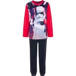 Piżama długi rękaw Star Wars Welurowa rozmiar 128
