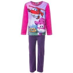 Piżama długi rękaw Super Wings Welurowa rozmiar 98