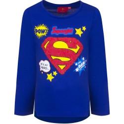 Bluzka długi rękaw Supergirl rozmiar 140