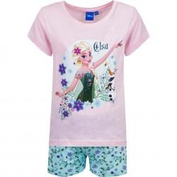 Piżama krótki rękaw Frozen rozmiar 98