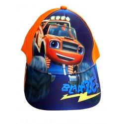 Czapka z daszkiem Blaze i Mega Maszyny rozmiar 54 - Pomarańczowy